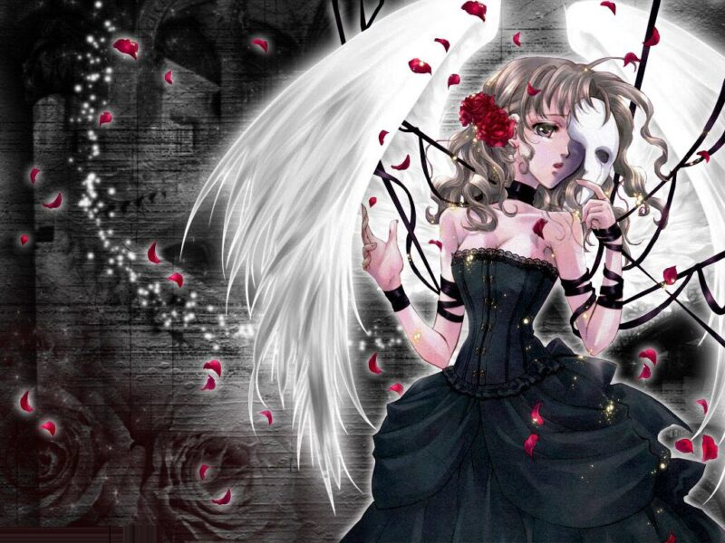 Hình ảnh anime thiên thần cực đẹp