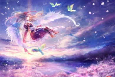 Hình ảnh anime thiên thần dễ thương, đẹp nhất