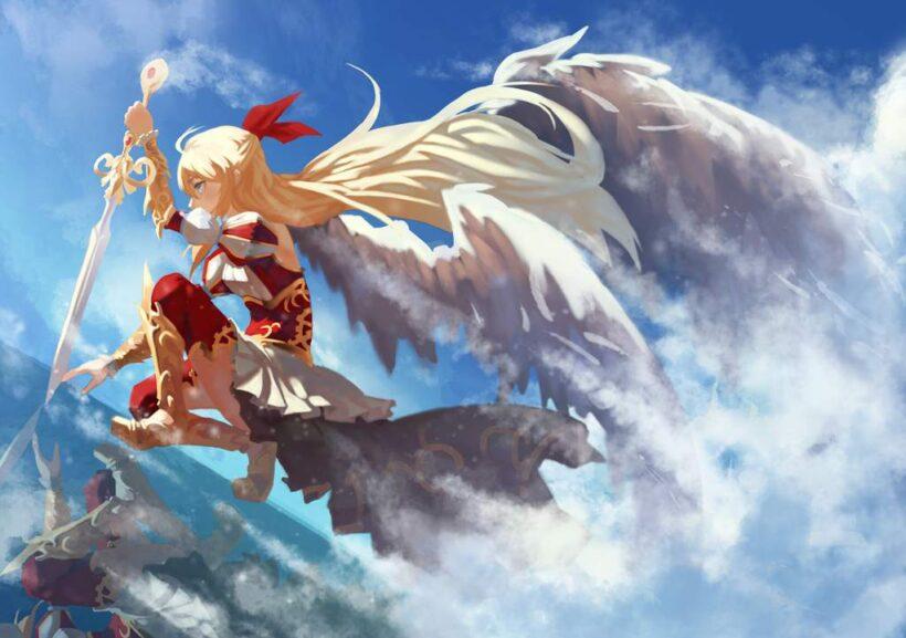 Hình ảnh anime thiên thần đẹp