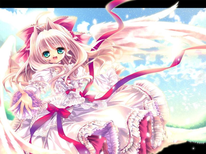 Hình ảnh anime thiên thần đẹp nhất