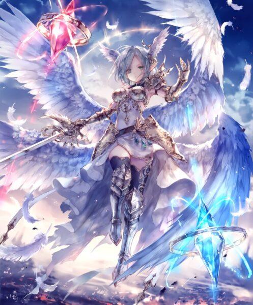 Hình ảnh anime thiên thần ngầu