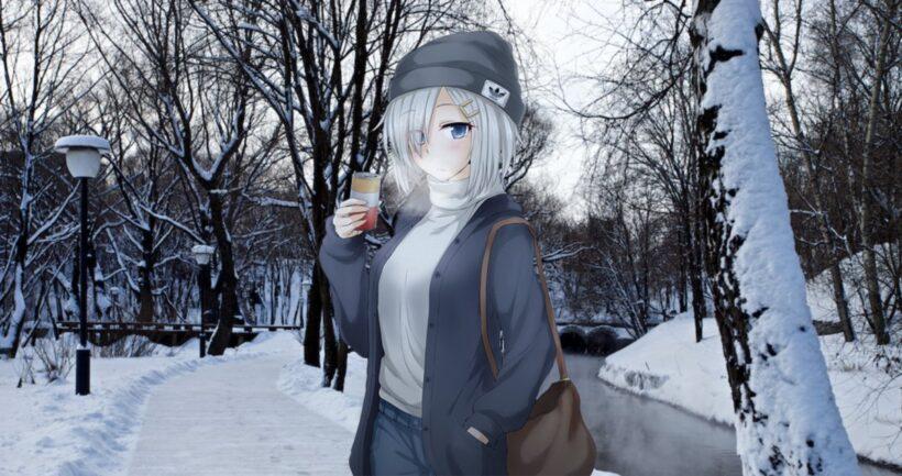 Hình ảnh anime thời tiết mùa đông