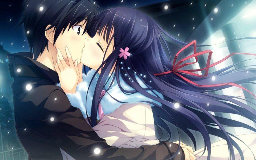 Hình ảnh anime tình yêu mùa đông
