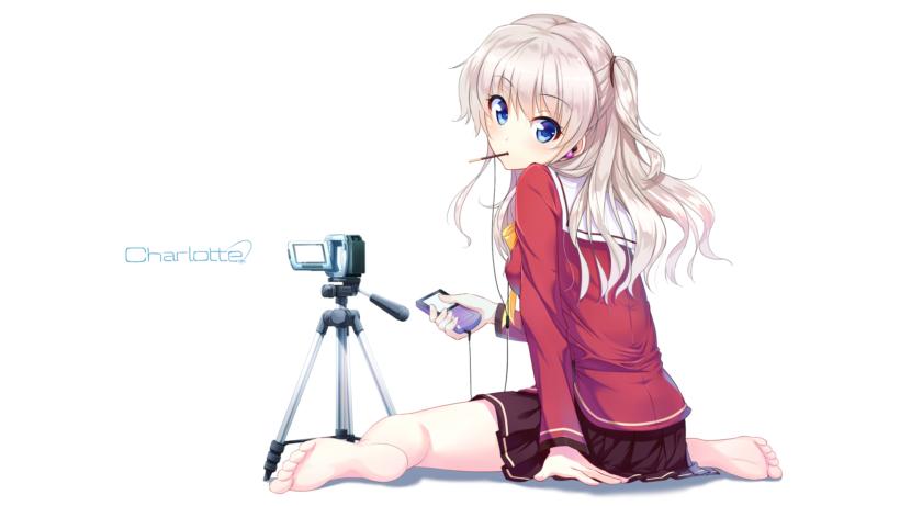 Hình ảnh anime tóc bạch kim cá tính