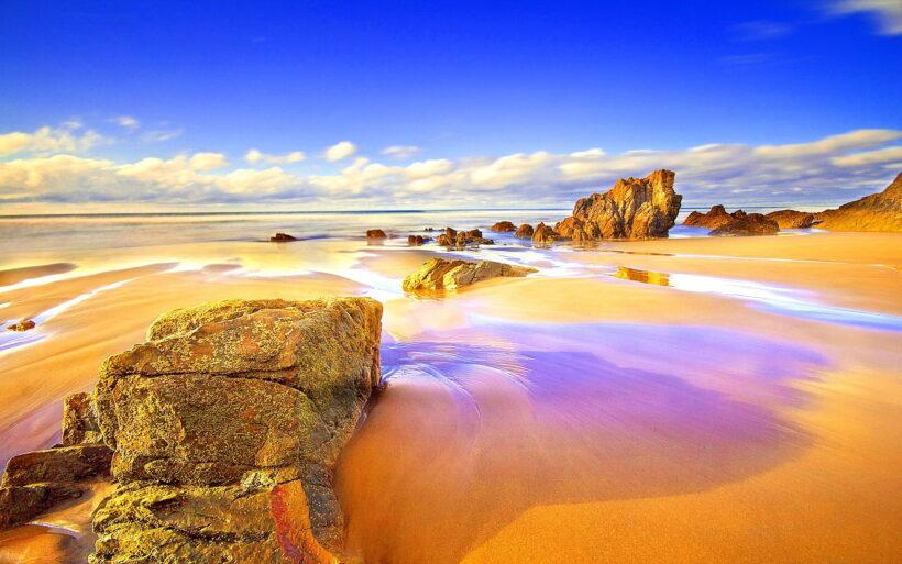 Hình ảnh bãi biển đẹp 4k