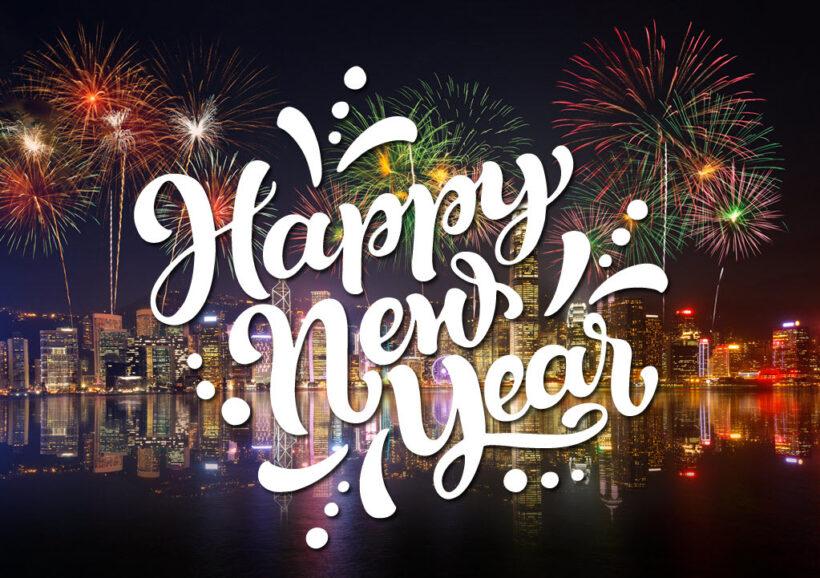 Hình ảnh bắn pháo hoa cực đẹp chúc mừng năm mới