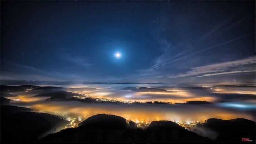 Hình ảnh bầu trời đêm đẹp nhất