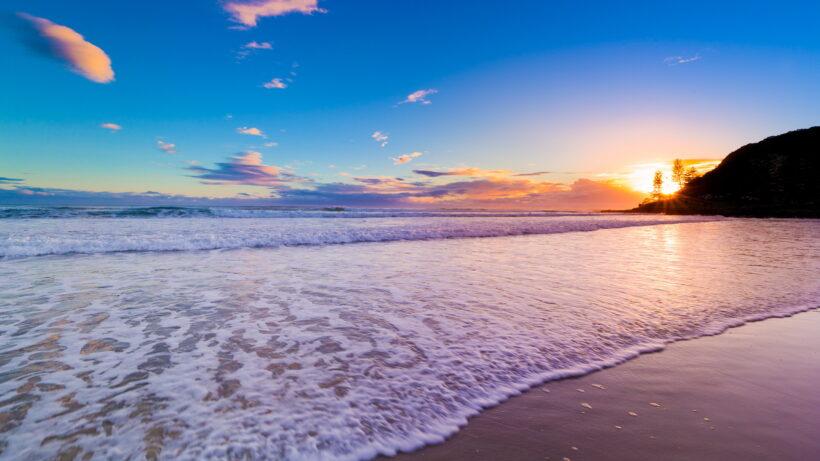 Hình ảnh biển đẹp lúc bình minh