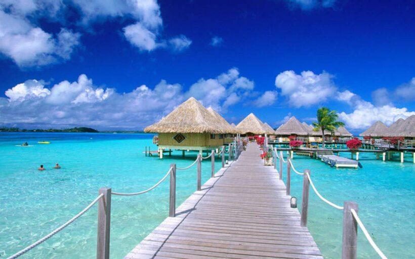 Hình ảnh biển đẹp ở khu du lịch