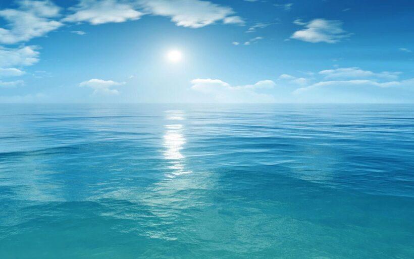 Hình ảnh biển xanh mênh mông đẹp