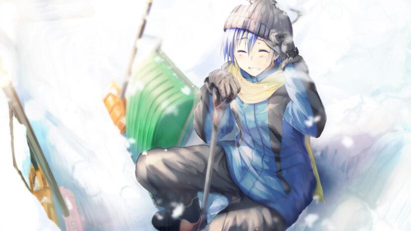 Hình ảnh boy anime mùa đông