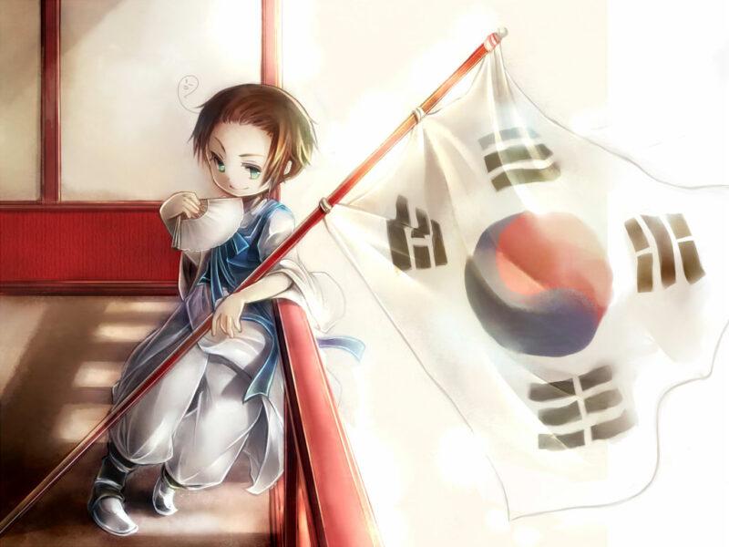 Hình ảnh cậu bé anime Hàn Quốc