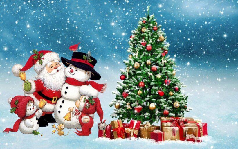 Hình ảnh cây thông Noel đẹp cho lễ Giáng Sinh