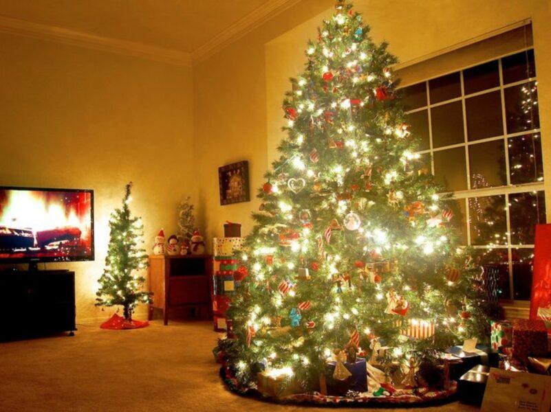 Hình ảnh cây thông Noel trang trí cực đẹp