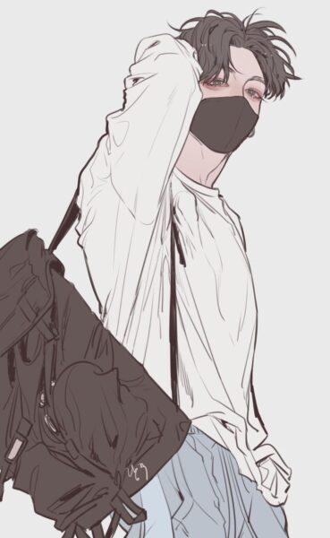 Hình ảnh chàng trai anime Hàn Quốc