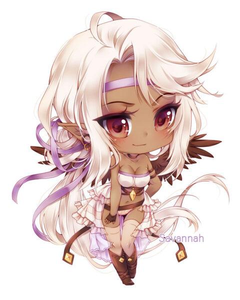 Hình ảnh chibi anime thiên thần
