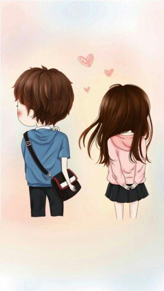 Hình ảnh chibi tình yêu cute