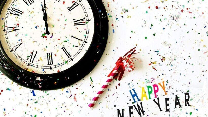 Hình ảnh chúc mừng năm mới đẹp lúc giao thừa