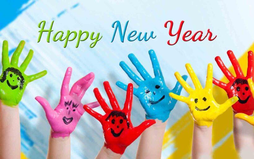 Hình ảnh chúc mừng năm mới ngộ ngĩnh