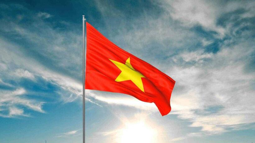 Hình ảnh cờ đỏ sao vàng của Việt Nam
