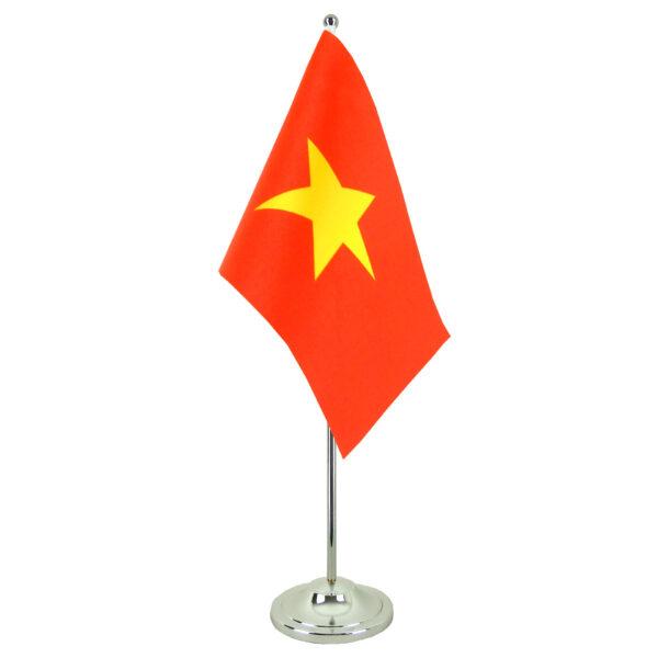 Hình ảnh cờ đỏ sao vàng để bàn
