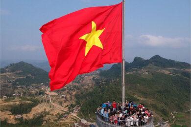 Hình ảnh cờ đỏ sao vàng đẹp nhất