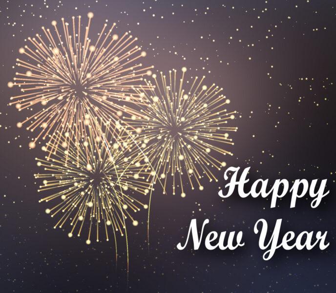 Hình ảnh cực đẹp chúc mừng năm mới
