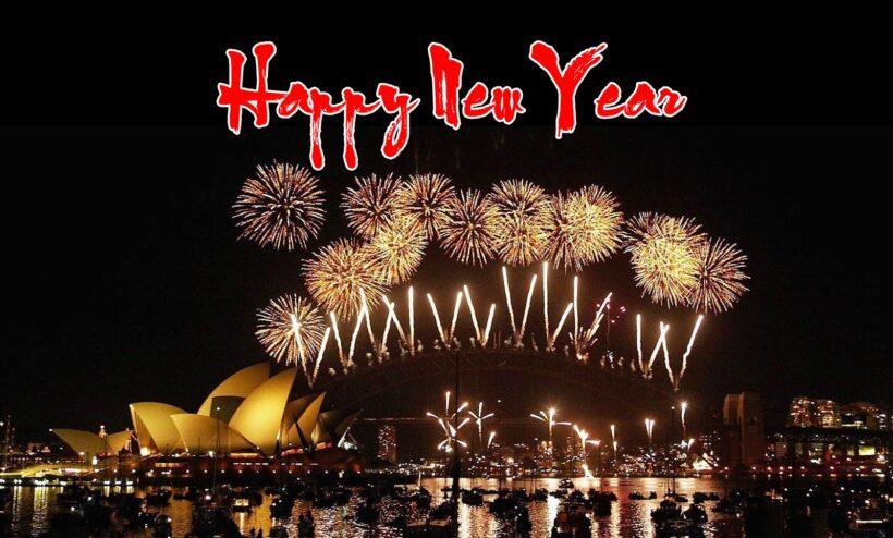 Hình ảnh đêm bắn pháo hoa đẹp chúc mừng năm mới