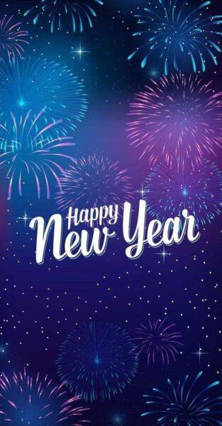Hình ảnh đẹp chúc mừng năm mới dành cho điện thoại