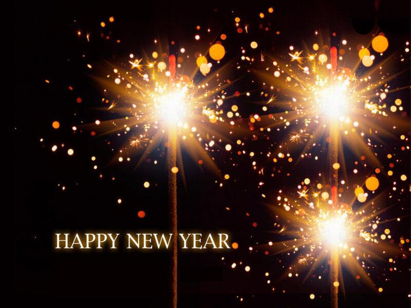 Hình ảnh đẹp chúc mừng năm mới rực rỡ