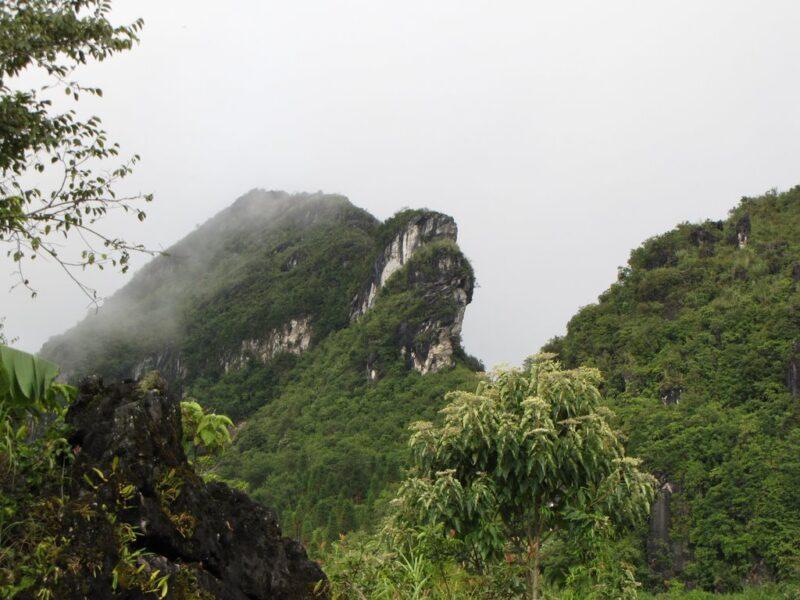Hình ảnh đẹp Núi Hàm Rồng Sapa