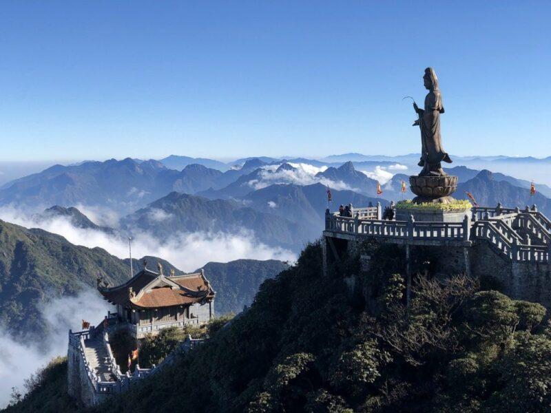 Hình ảnh đẹp Sapa Núi đền thờ