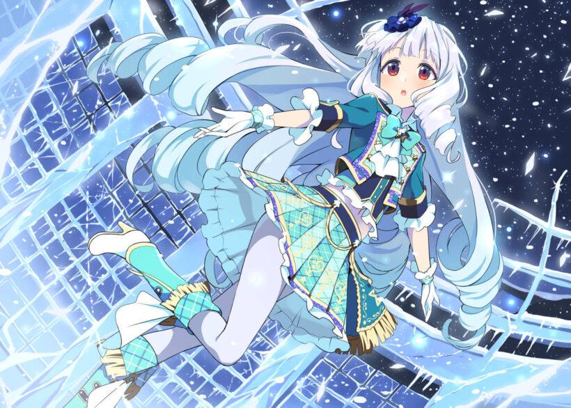 Hình ảnh girl anime mùa đông
