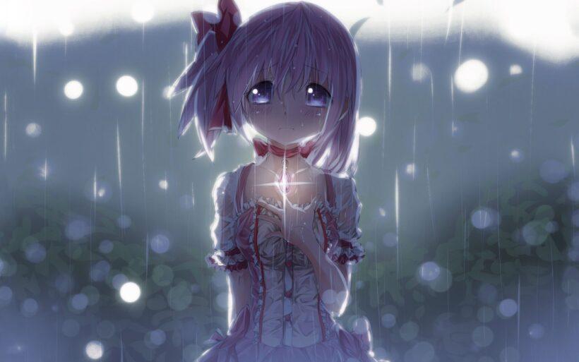 Hình ảnh hoạt hình anime buồn