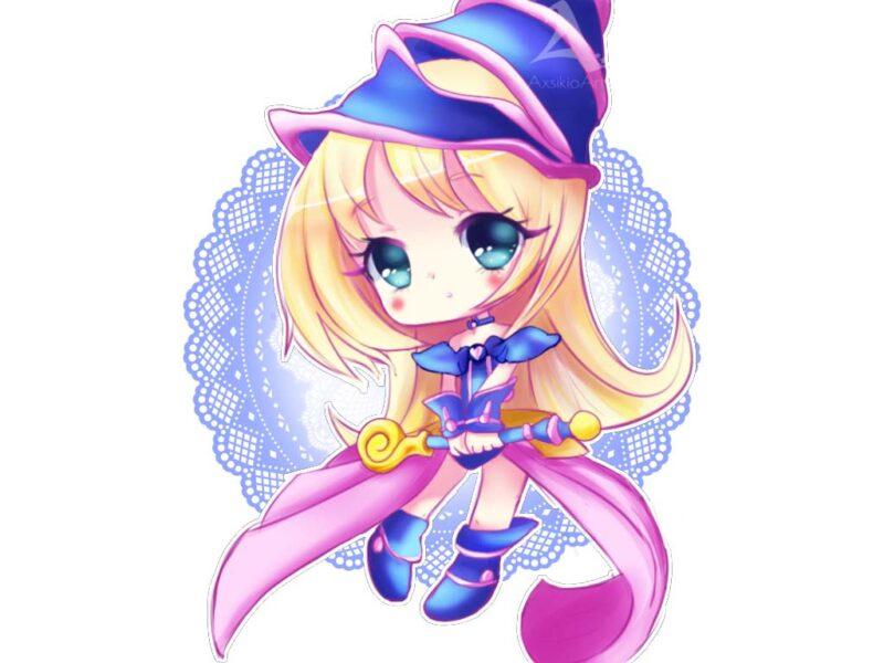 Hình ảnh hoạt hình cô gái dễ thương, cute