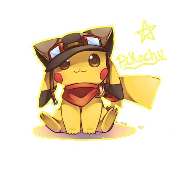 Hình ảnh hoạt hình Pikachu cute