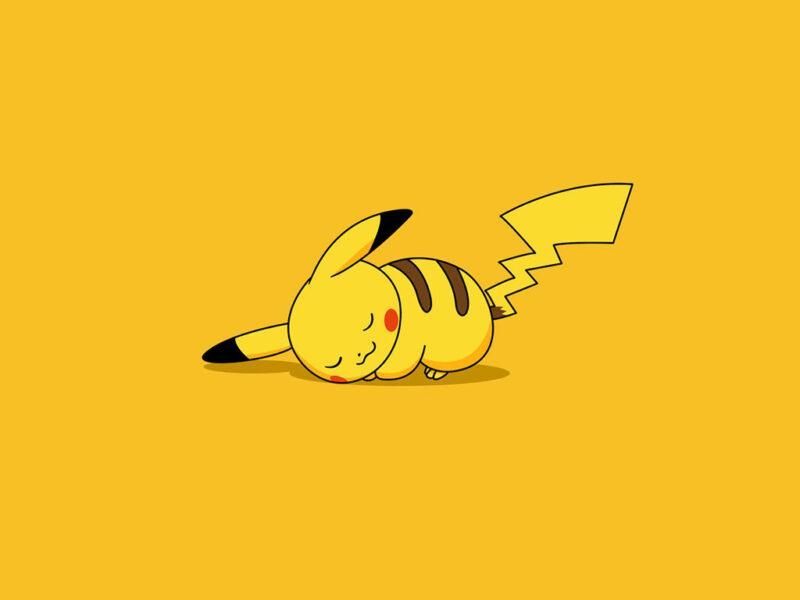 Hình ảnh hoạt hình Pikachu dễ thương, cute