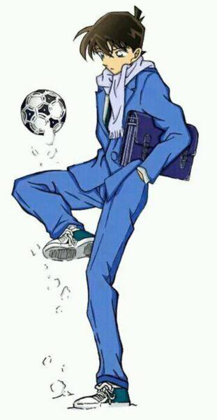 Hình ảnh Kudo Shinichi chơi bóng