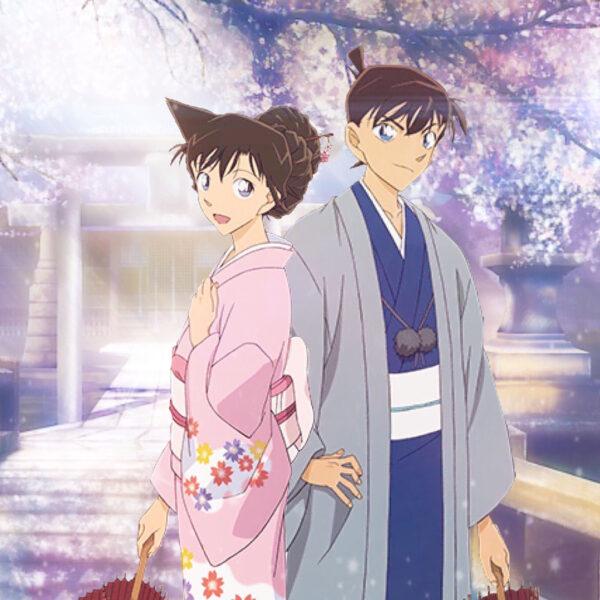 Hình ảnh Kudo Shinichi trong trang phục truyền thống
