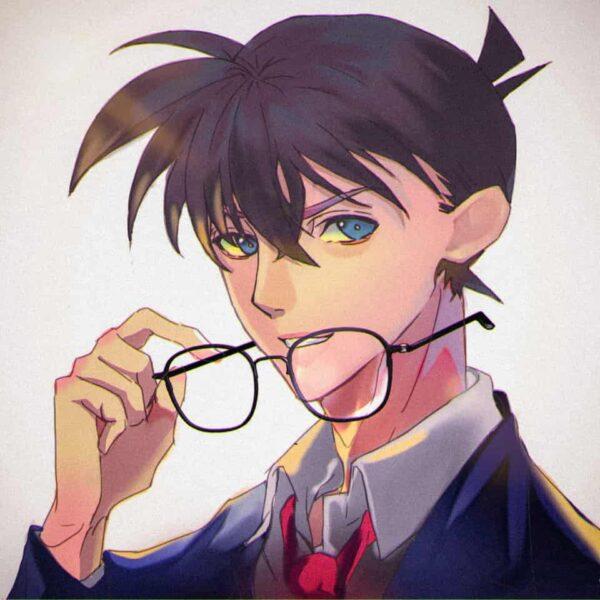 Hình ảnh Kudo Shinichi và chiếc kính