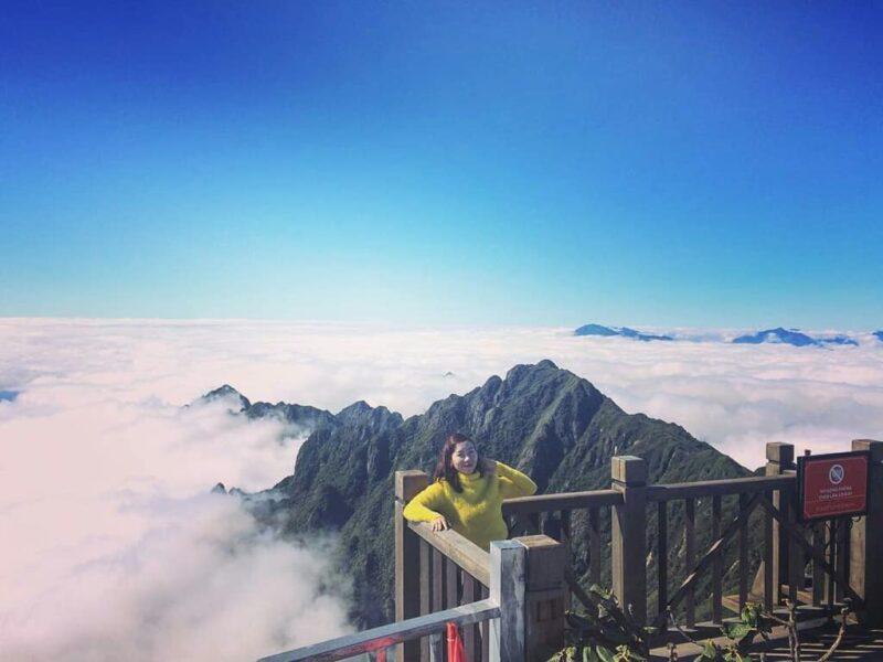 Hình ảnh mây núi đẹp Sapa