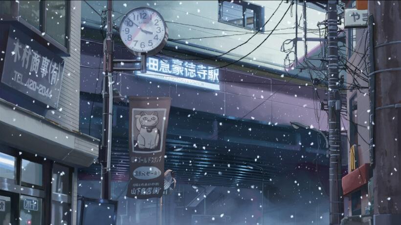 Hình ảnh mùa đông anime