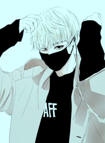 Hình ảnh nam anime Hàn Quốc ngầu