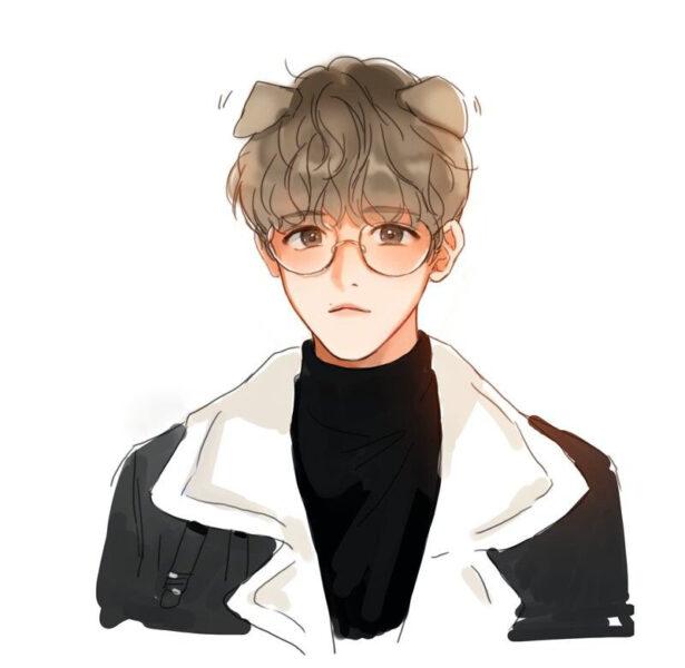 Hình ảnh nam anime Hàn Quốc tai thỏ