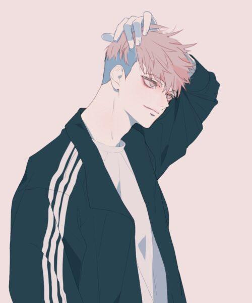 Hình ảnh nam anime Hàn Quốc trong trang phục thể thao