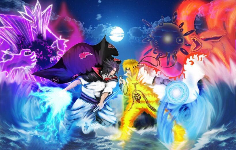 Hình ảnh Naruto 3D chất