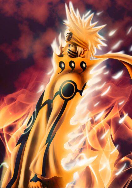 Hình ảnh Naruto 3D cho điện thoại