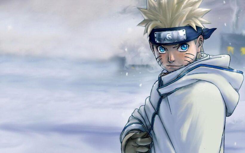 Hình ảnh Naruto 3D mùa đông