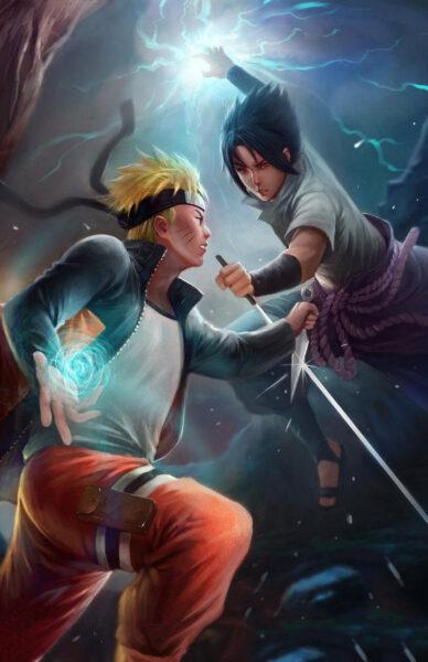 Hình ảnh Naruto 3D ngầu đẹp
