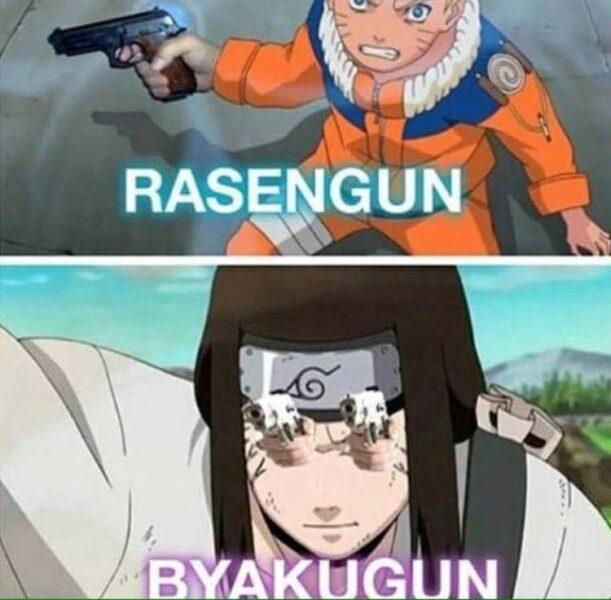 Hình ảnh Naruto chế độc lạ